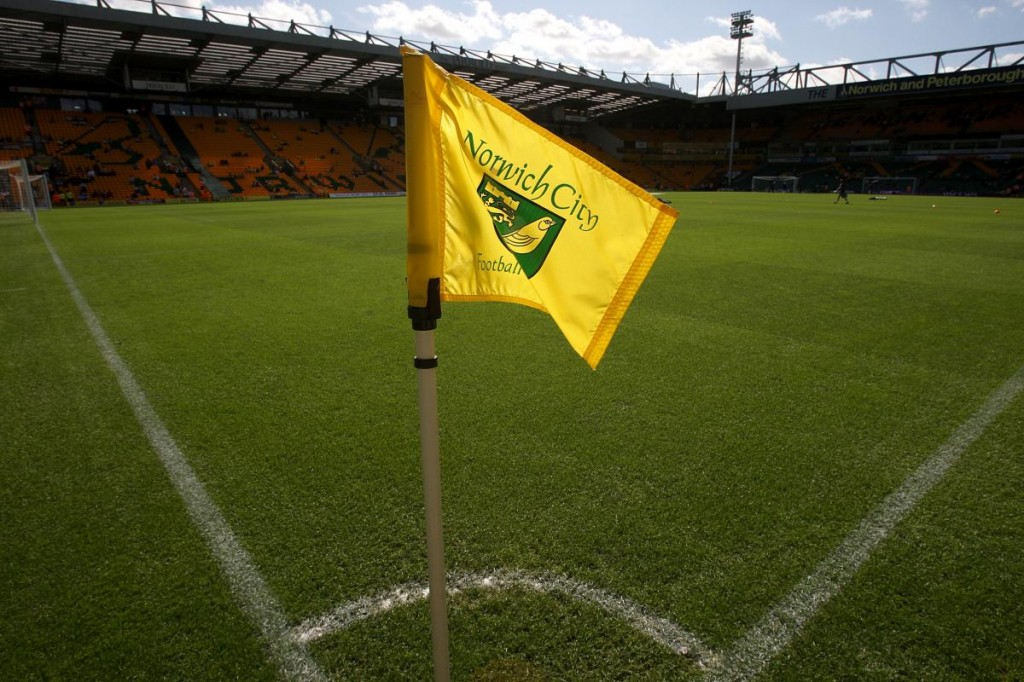 Carrow Road corner flag