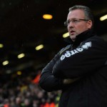 Former Norwich City manager Paul Lambert